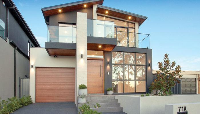 گھر کی بیرونی خوبصورتی کے تعمیراتی انداز