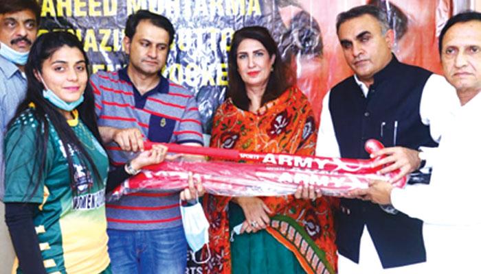 ماہور شہزاد کے اعزاز میں نیا ناظم آباد میں تقریب