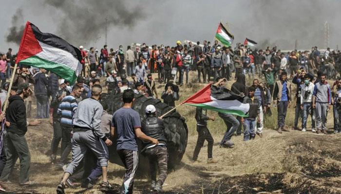 قیامت بپا ہے، فلسطین میں