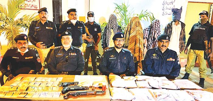 پولیس کی جرائم کے خلاف کامیاب کارروائیاں