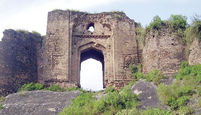 قلعہ پھروالہ... گکھڑوں کی عظمت کا نشان