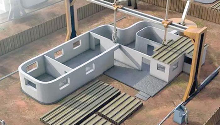 تعمیرات میں3D پرنٹنگ ٹیکنالوجی کا استعمال