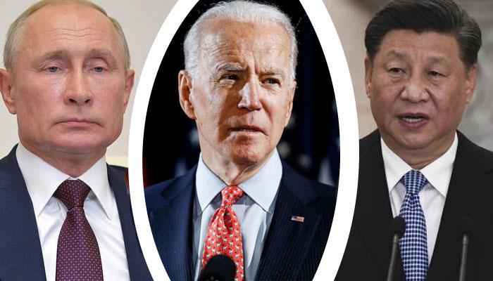 امریکا کی روس اور چین کے خلاف سرد جنگ