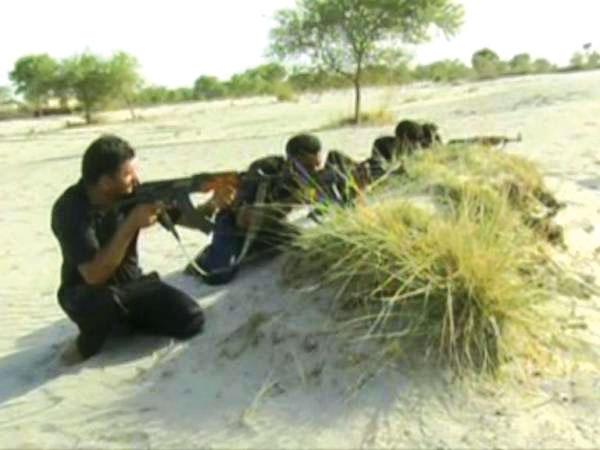 جنگلات میں پولیس آپریشن جاری