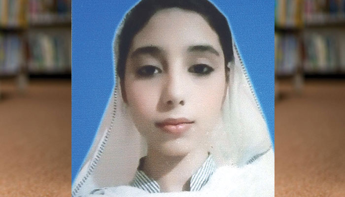 کراچی کی ہونہار بچی زرمین شیخ