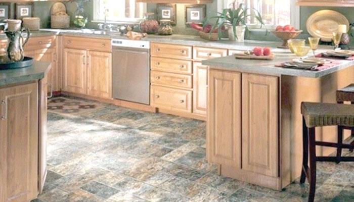 باورچی خانہ کیلئے فرش کے دلچسپ ڈیزائن