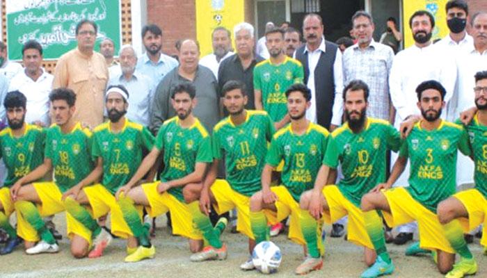 پاکستان میں عالمی فٹبال لیگ کی تیاری آخری مراحل میں