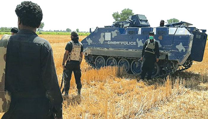 پولیس مقابلہ دو اہل کار شہید
