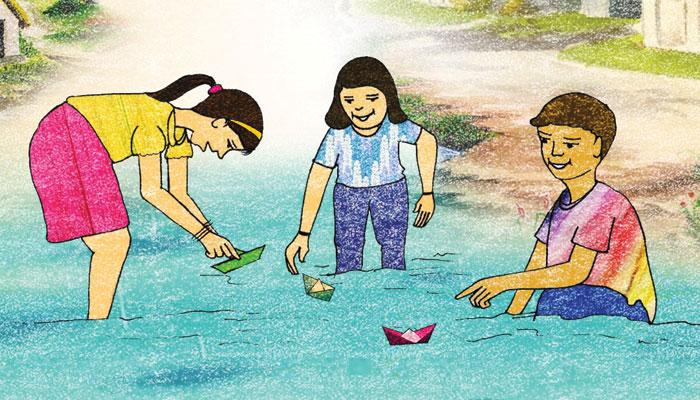 بچپن کی برسات اور بقر عید