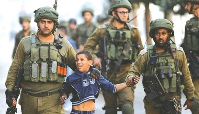 شعلوں کی زد میں ہے فلسطین ...