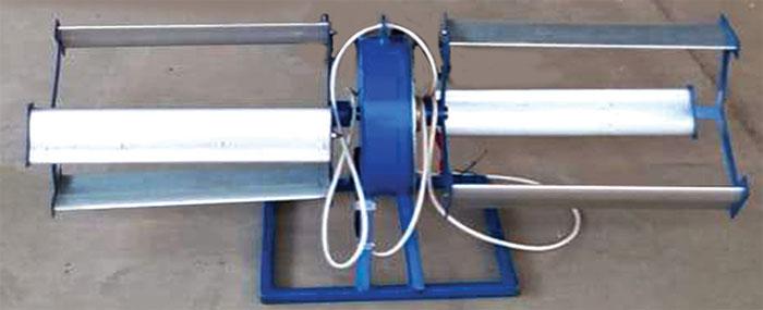 بہتے پانی سے بجلی بنانے والا ٹربائن