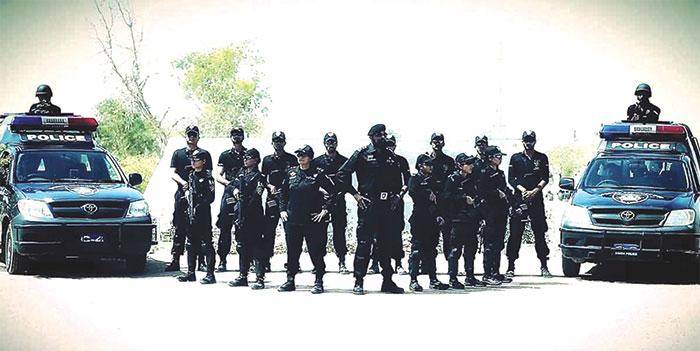 ضلع شہید بینظیر آباد کی پولیس اپنے ریجن میں نمایاں