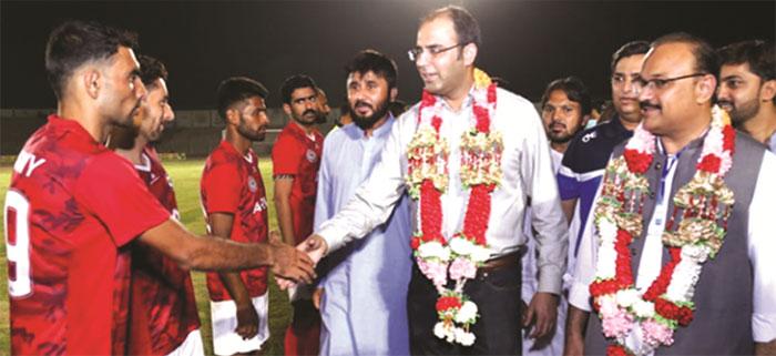 پاکستان پریمیئر لیگ فٹبال کے آر ایل ٹائٹل کے دفاع کیلئے پرعزم
