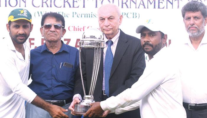 آل سندھ پروفیسر اعجاز فاروقی کرکٹ فائنل پاکستان کلب کے نام