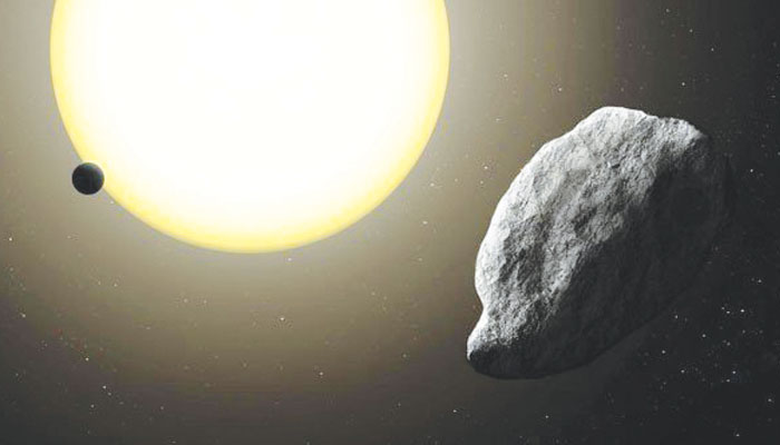 نظامِ شمسی کا تیز رفتار شہابیہ دریافت