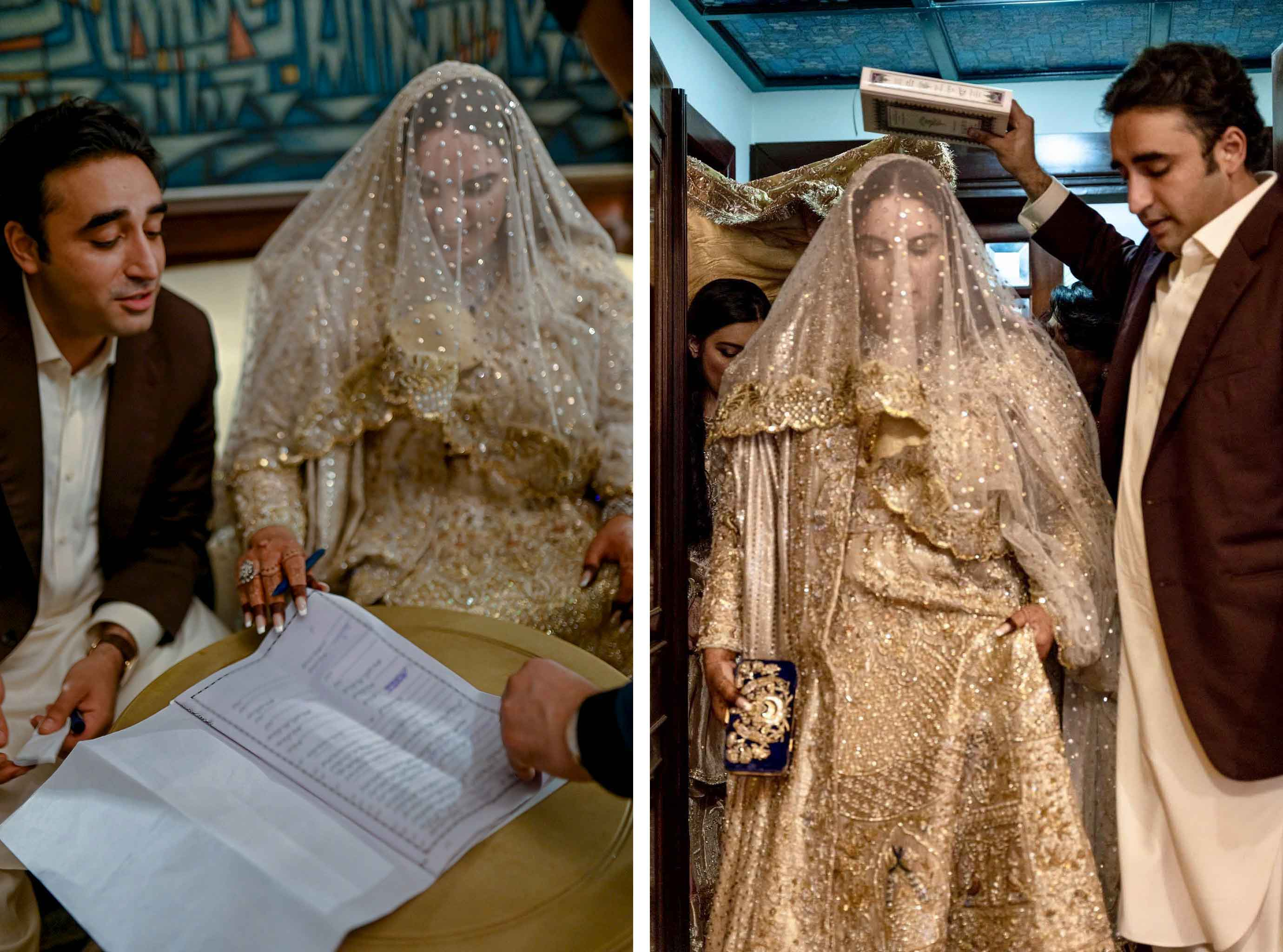 Aseefa Bhutto Zardari Marriage