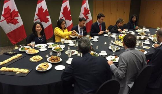 Canadian Prime Minister Attends First Iftar