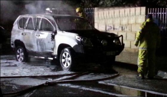 Petrol Bomb Blast Outside Masjid In Perth