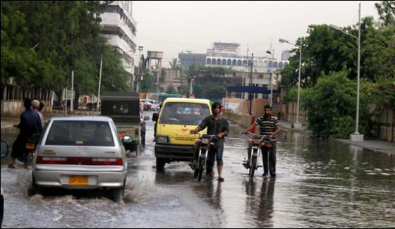 Rain Become Problem In Some Areas Karachi