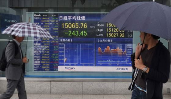 Asian Stock Markets Stabilizing Trend