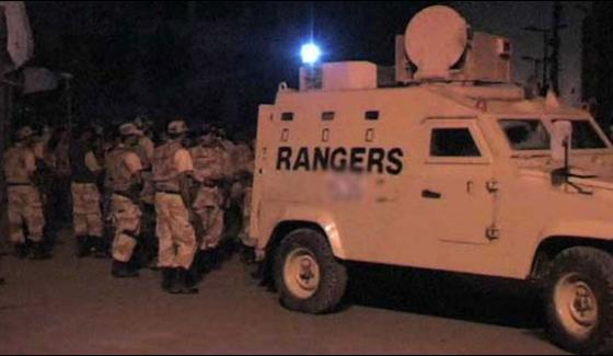 Rangers Operation In Lyari 3 Suspects Killed Arms Recover