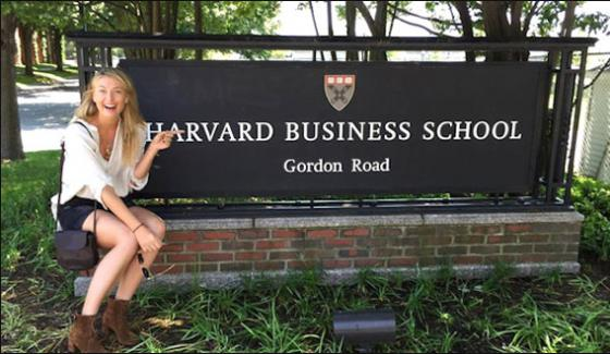 Maria Sharapora Takes Admission In Business Havard School