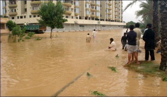 Karachi Saadi Garden Nallah Choked Water Level Up