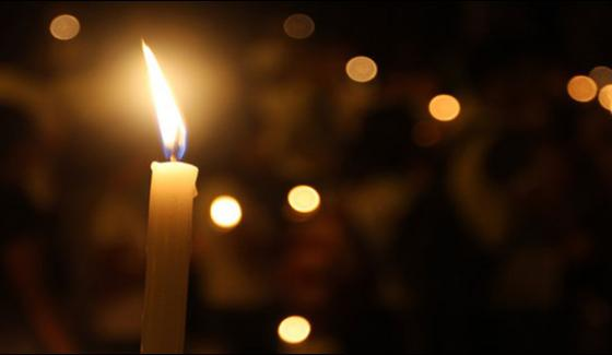Lit Candles In Memory Of The Amjad Sabri | Daily Jang News
