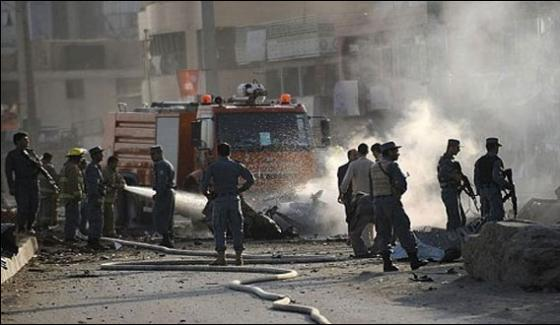 Twin Suicide Blasts In Kabul 20 Killed Dozen Wounded