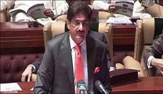 Murad Ali Shah Named Finalist For Cm Sindh