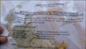 Caa Sensitive Documents On Karachi Tandurs