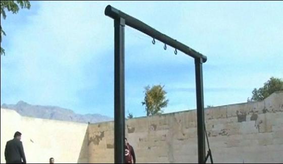 Murder Criminal Hanged In Sialkot Prison