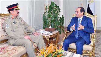 Amry Chief Meet Egyptian President