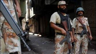 Rangers Operation In Shah Faisal Colony And Burns Road Arms Recovered