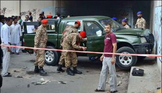 Attack On Pak Army Car Whose Responsible Of This Incident