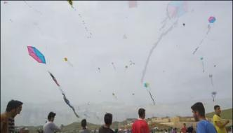 Turkish City Of Mardin Annual Kite Festival