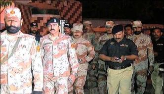 Accused Arrested On Charge Of Tv Attack In Karachi