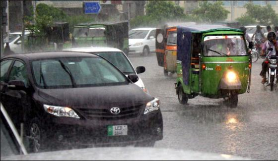 Heavy Rain In Lahore Routine Life Badly Distrub