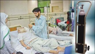 Kasur Oxygen Cylindar Of District Hospital Found From Private Hospital