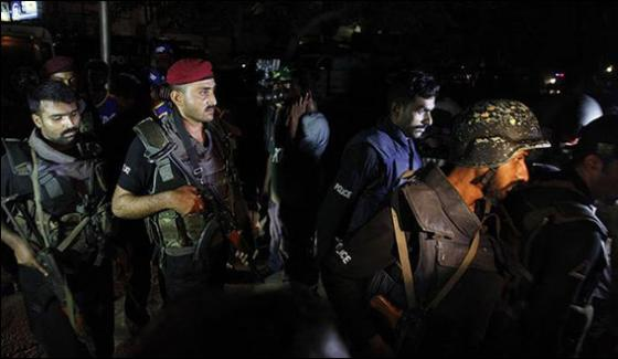 4 Terrorists Killed In Lahore Ctd Operation