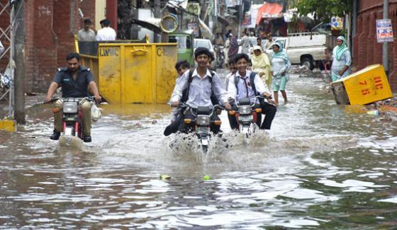 Again Heavy Rain In Lahore