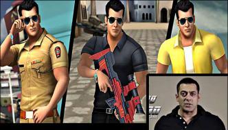 Salman Khan Launches His Official Game