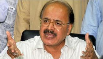 Manzoor Wasan Raid At Sindh Industries