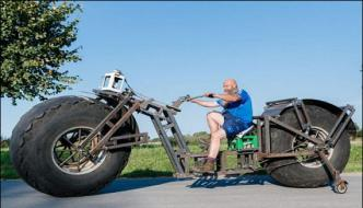 German Makes Worlds Heaviest Cycle