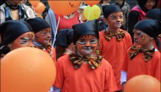 Russia World Tiger Day Prade