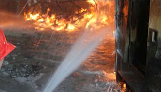 Fire Errupts In Bait Ul Maal Of Mirpurkhas 5 Children Dead