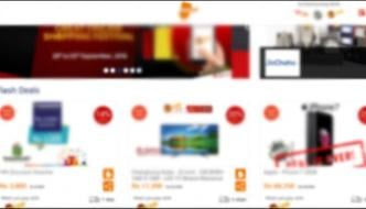 Online Shopping On The Last Day Of Discount Shopping Festival