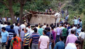 Bus Accident In Occupied Kashmir 22 People Died Several Wounded