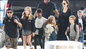 Angelina Jolie And Kids Were Interviewed By Fbi