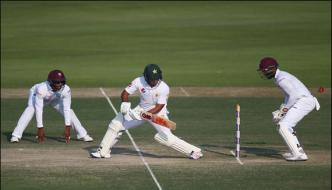 Abu Dhabi Test Pakistan Consolidates Its Position Against West Indies